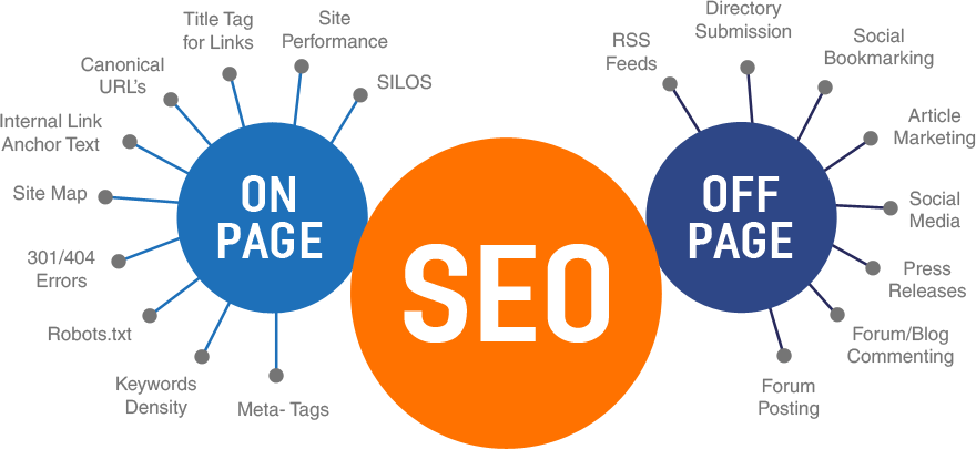 what are the types of SEO in nepal