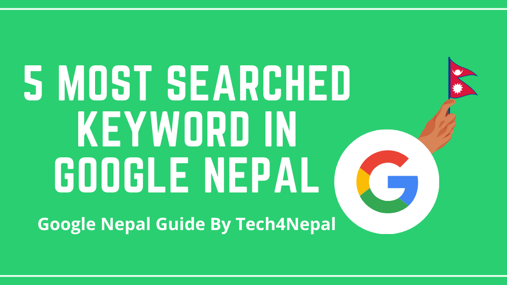 5 most searched keyword in Nepal