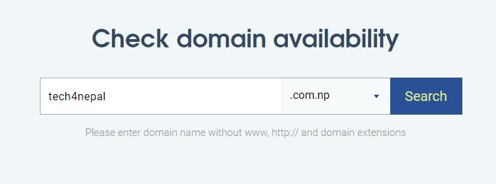 Register .np Domain in Nepal